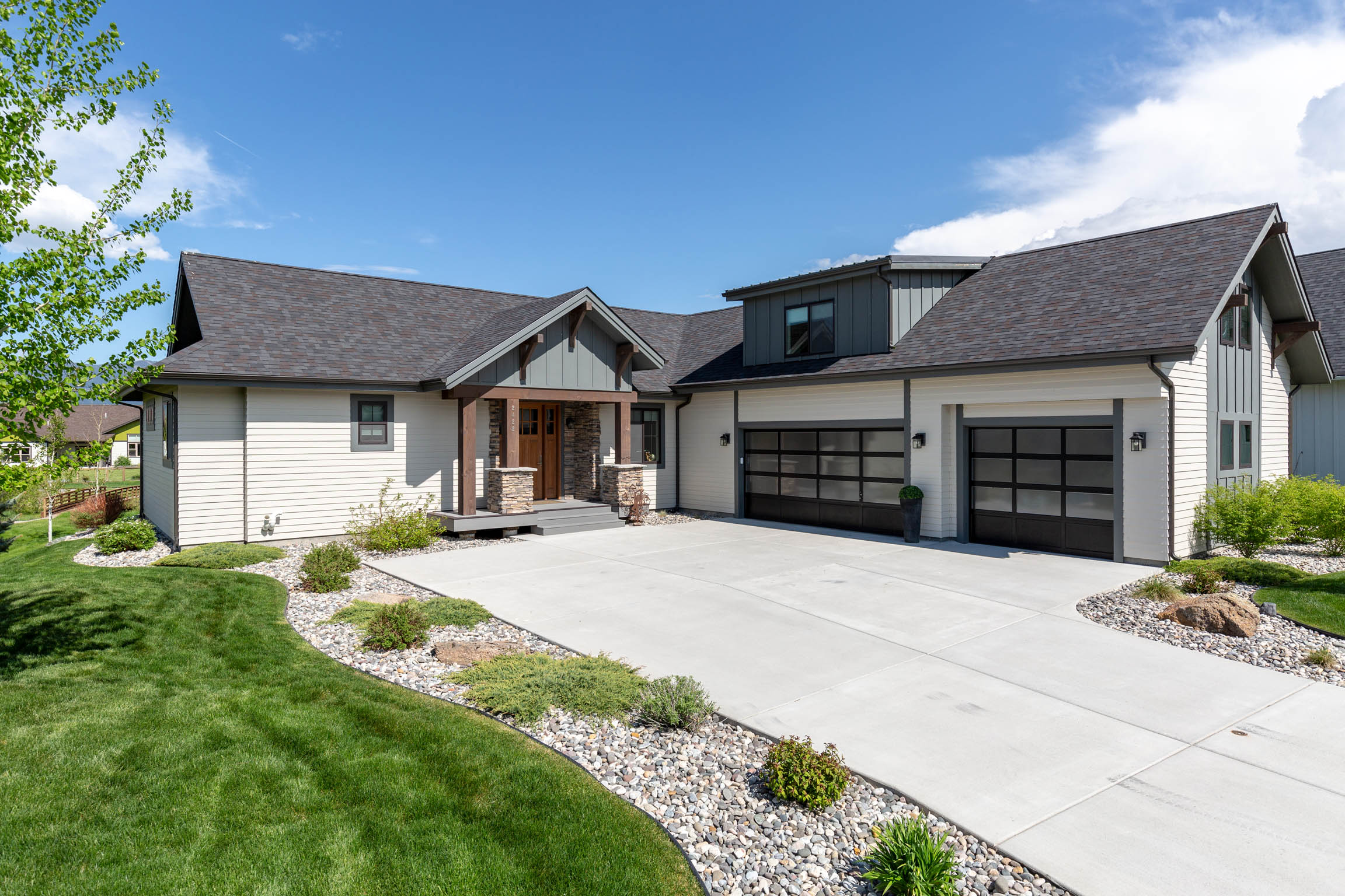 Cool, Modern Bozeman Home with Great Bridger Mountain Views!