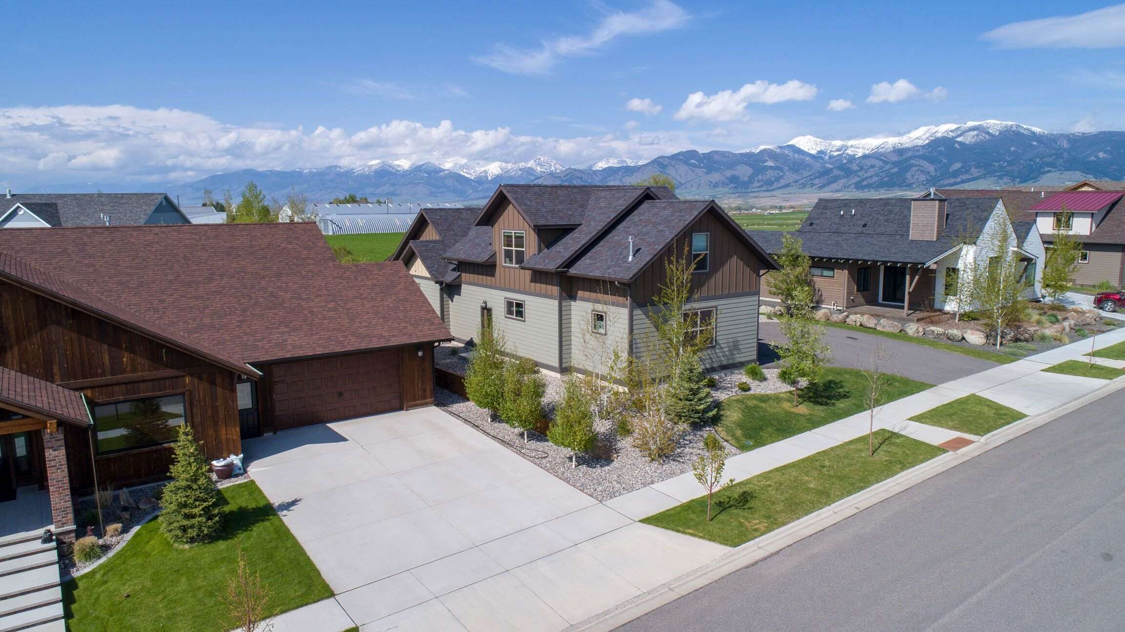 Bozeman home with Mountain and Farmland Views!