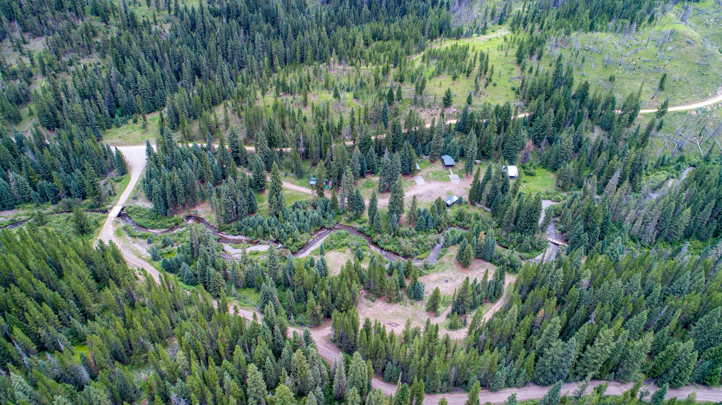 11+ Acres: Private Holding Surrounded by Gallatin National Forest